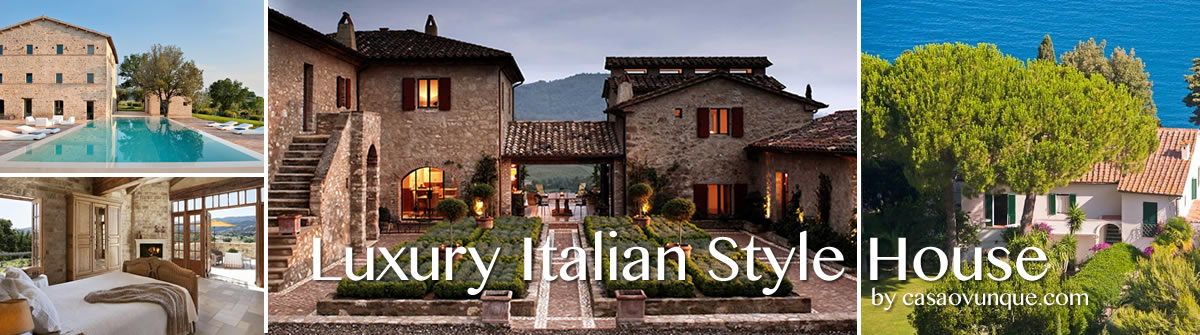Luxury Italian Style House